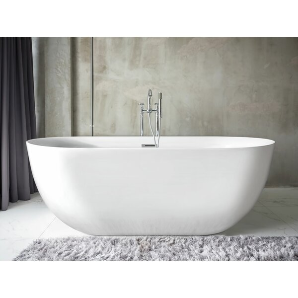 Neptune Oval 59 x 28 Soaking Bathtub by Pacific Collection