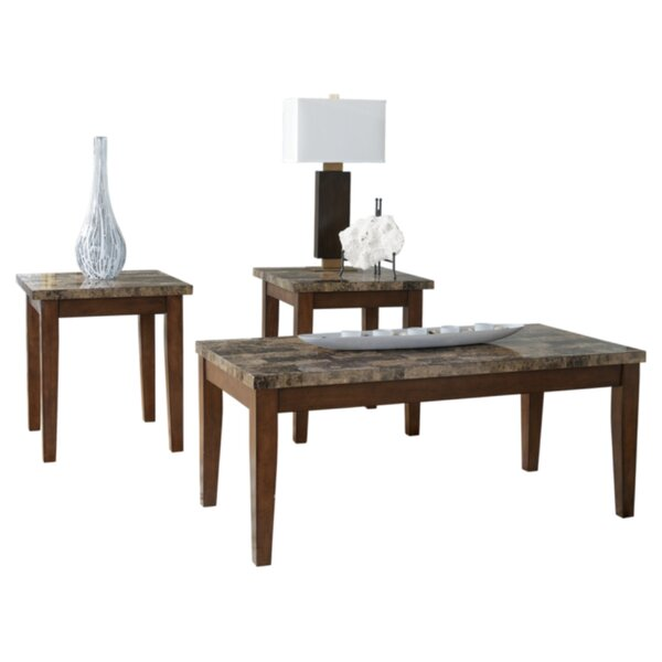 Anadarko 3 Piece Coffee Table Set