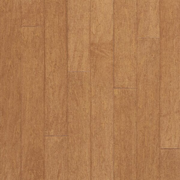 Turlington 5 Engineered Maple Hardwood Flooring in Amaretto by Bruce Flooring