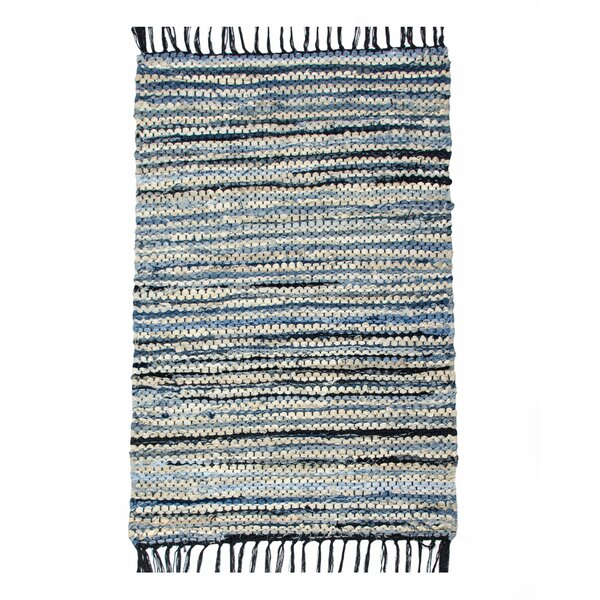 Denim Hand-Woven Jean Area Rug by CLM