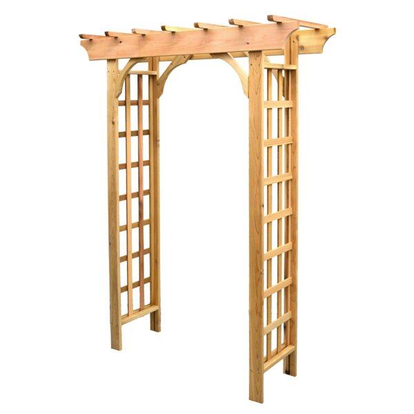 Phat Tommy Vine Leaf Wood Arbor by Buyers Choice