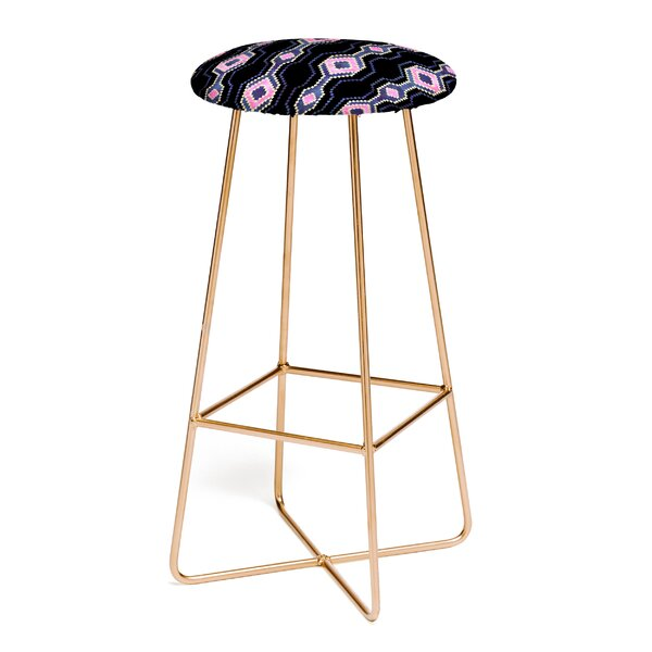 Schatzi Boho Basic Eye Sparkle 30 Bar Stool by East Urban Home