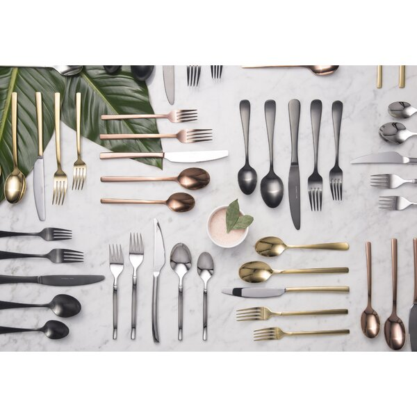 Agave 20-Piece Flatware Set, Service for 4 by Mint Pantry