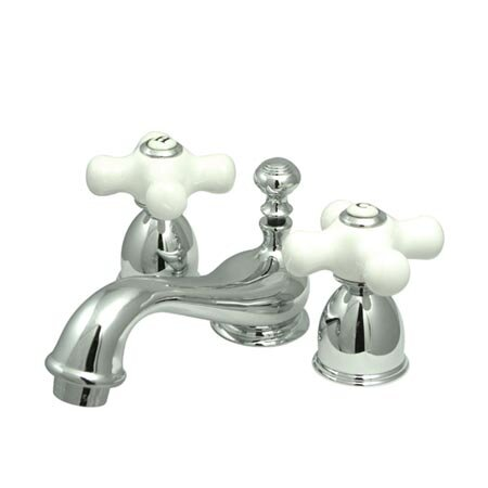 Restoration Widespread faucet Bathroom Faucet with