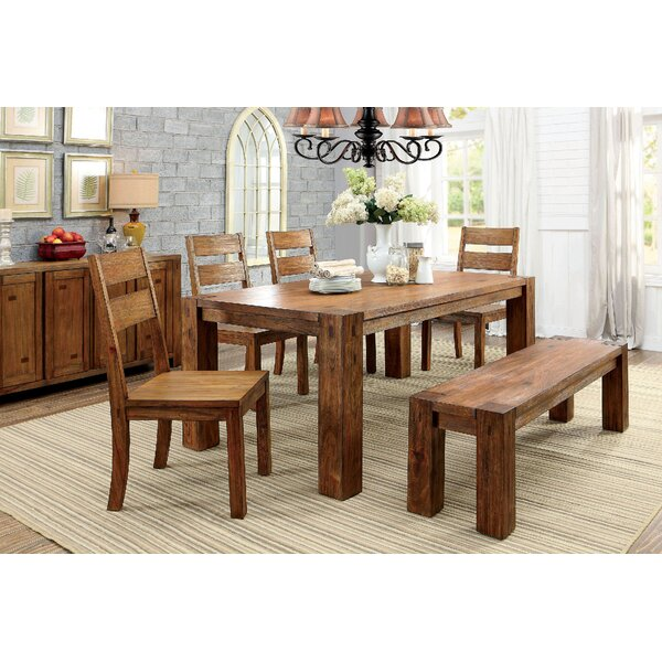 Shockley 6 Piece Dining Set by Loon Peak