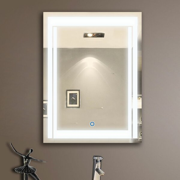 Shawnee Modern & Contemporary Lighted Bathroom/Vanity Mirror
