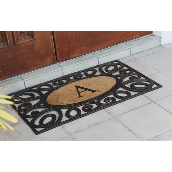 Baggs Monogrammed Doormat by Darby Home Co