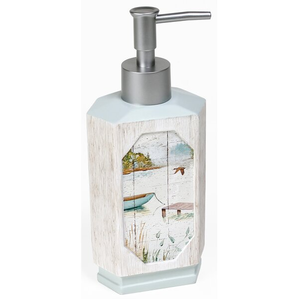Lake Retreat Lotion Dispenser by Saturday Knight, LTD