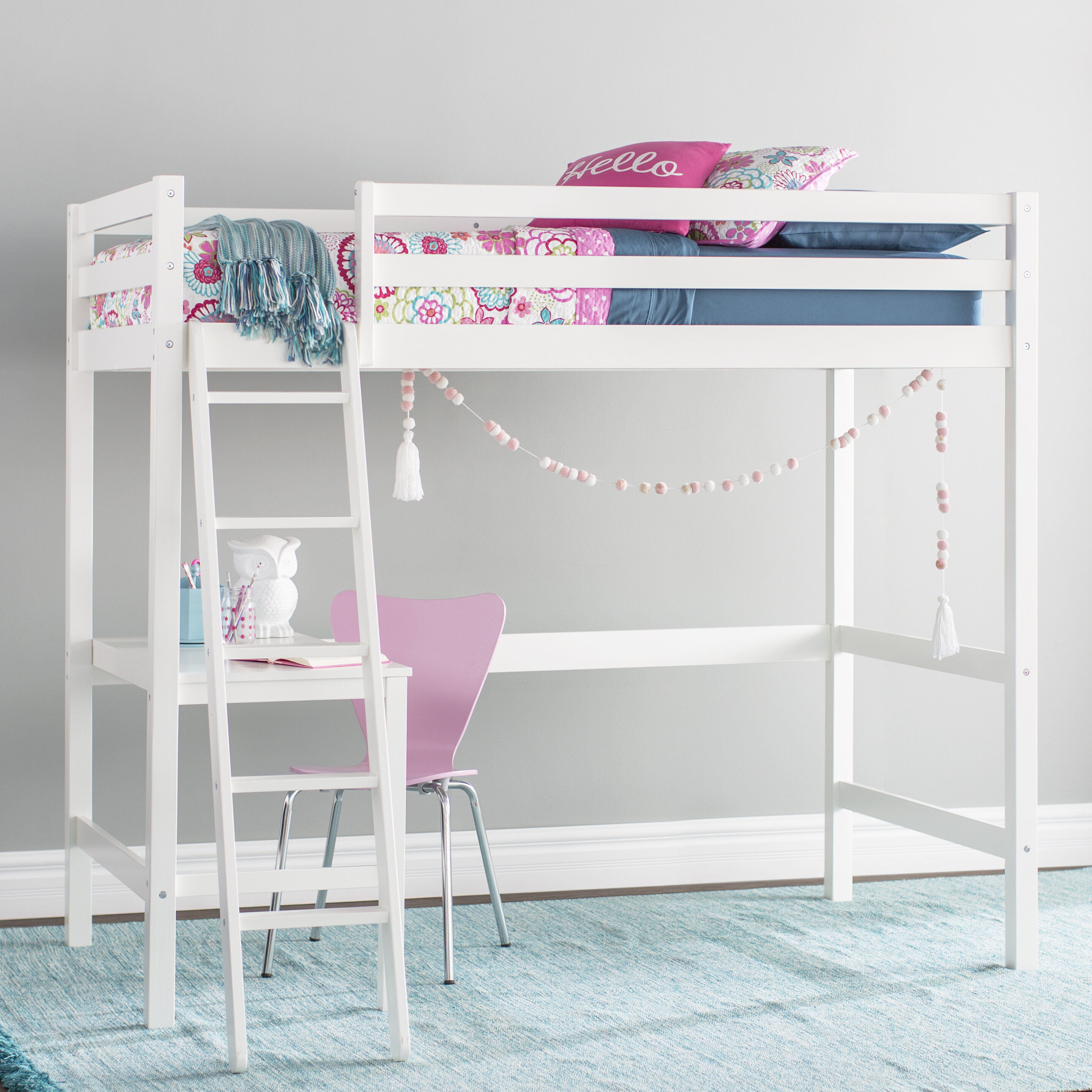 Kids Beds With Desks Free Shipping Over 35 Wayfair