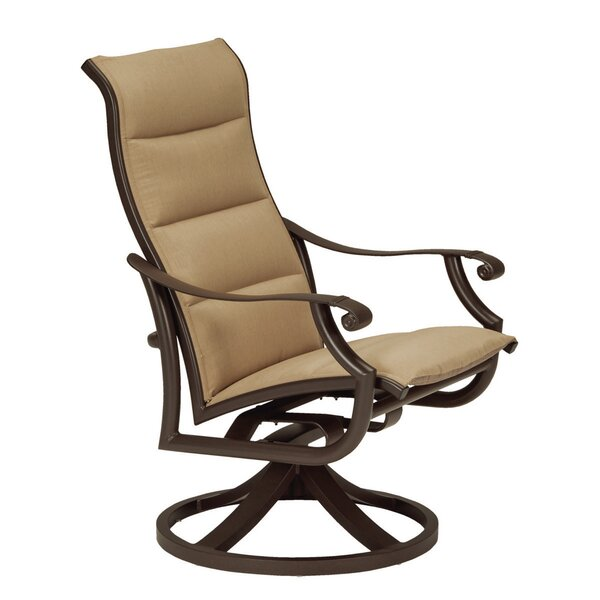 Montreux II Padded Patio Chair with Cushion by Tropitone
