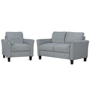 Awen 2 Piece Living Room Set (Set of 2) by Winston Porter