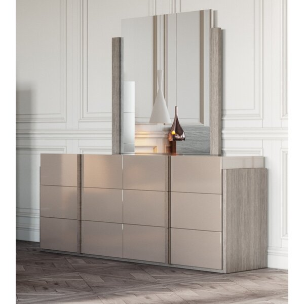 Dibiase 6 Drawer Double Dresser by Orren Ellis