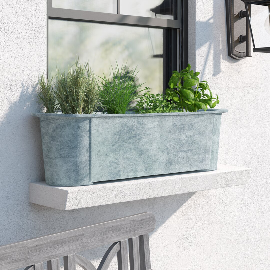 Hallwood Fibreglass Window Box Planter