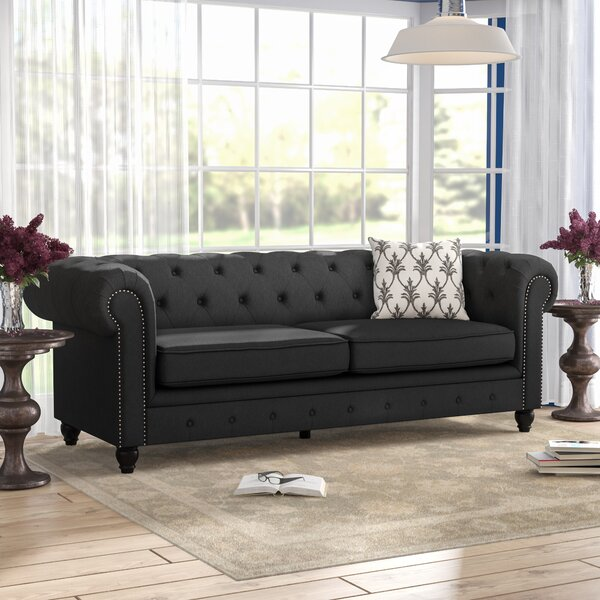 A Wide Selection Of Kendricks Chesterfield Sofa by Three Posts by Three Posts