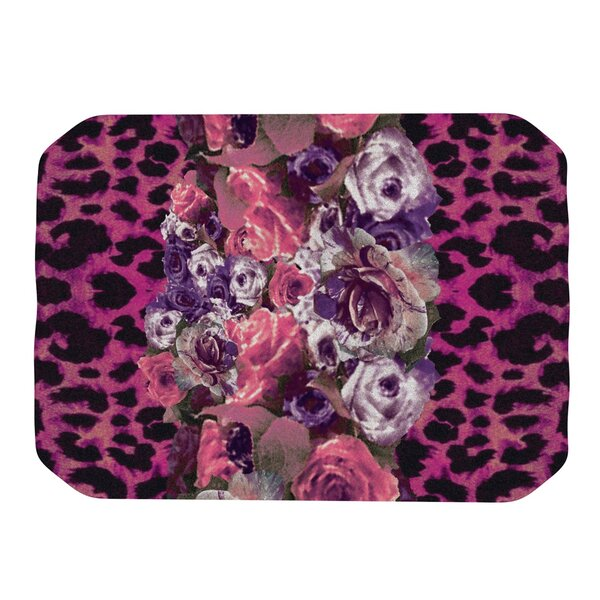 Rose Strip Placemat by KESS InHouse