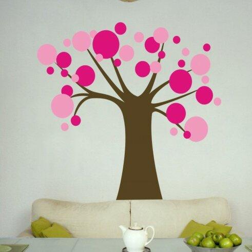Polka Dot Candy Tree Wall Decal by Alphabet Garden Designs