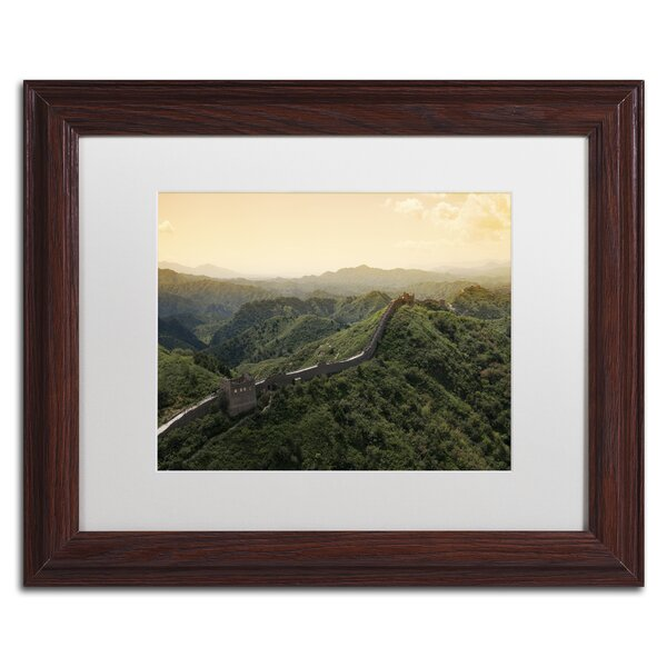 Great Wall XIV by Philippe Hugonnard Framed Photographic Print by Trademark Fine Art