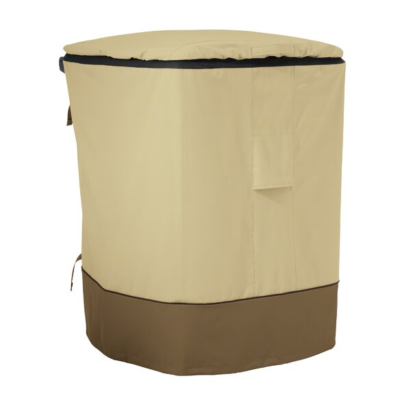 Mckinnis Trash Cart Cover - Fit up to 29 by Red Barrel Studio
