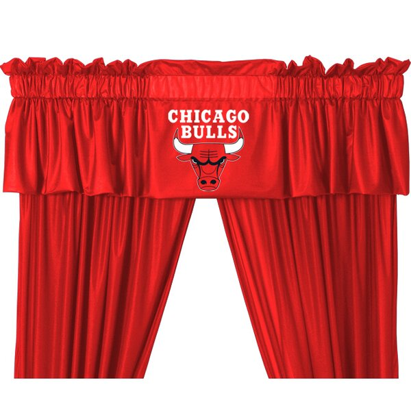 NBA 88 Chicago Bulls Curtain Valance by Sports Coverage Inc.