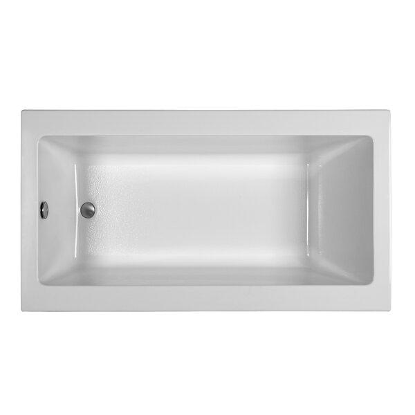 Contemporary 66 x 32.25 Soaking Bathtub by Reliance