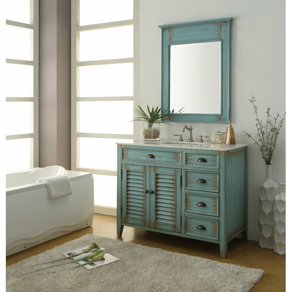 Snider 42 Single Bathroom Vanity Set with Mirror