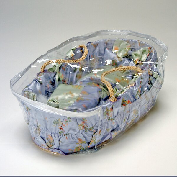 Moses Basket Storage Bag by Wendy Anne