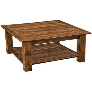 Barnwood Open Coffee Table
