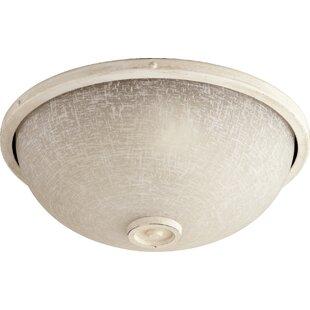 Top Reviews Marsden 2-Light  Bowl Ceiling Fan Light Kit By Quorum