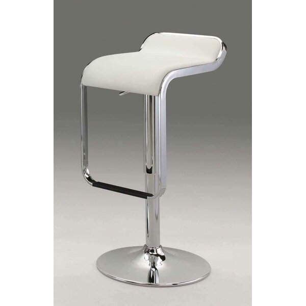 Ewing Adjustable Height Bar Stool by Orren Ellis