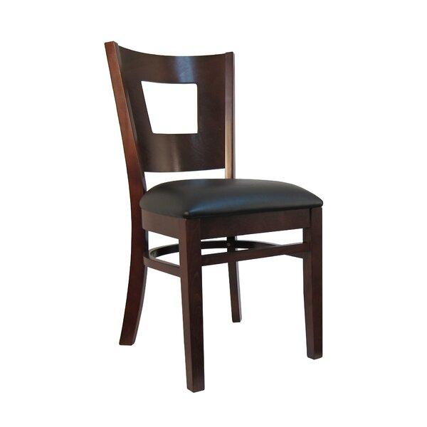 Wood Upholstered Dining Chair (Set of 2) by H&D Restaurant Supply, Inc.