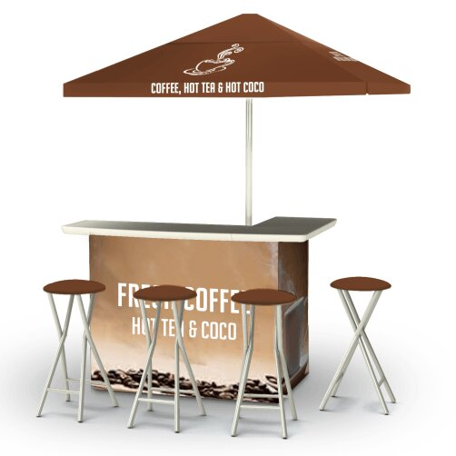 Coffee 8 Piece Bar Set by Best of Times Best of Times