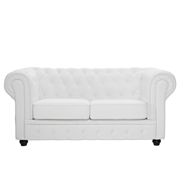 Chesterfield Loveseat by Modway