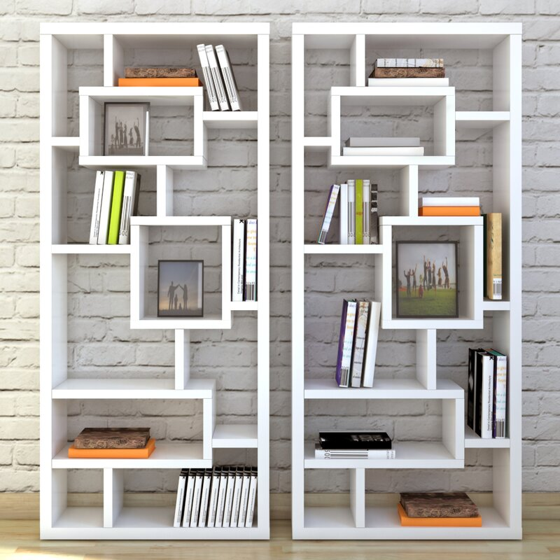 Bookshelf Divider Wall Mercury row cleisthenes cube unit bookcase reviews wayfair cleisthenes cube unit bookcase sisterspd