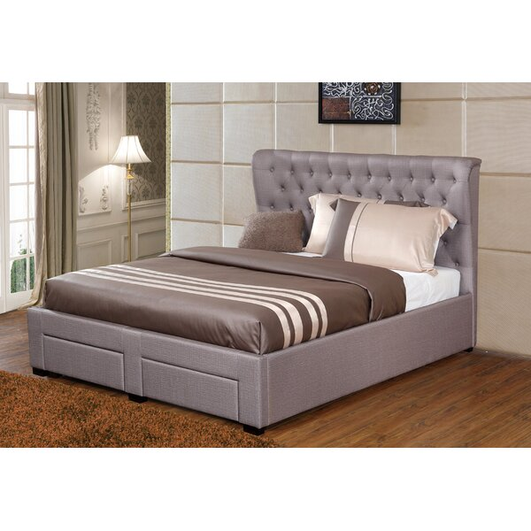 Lourenco Upholstered Storage Platform Bed By Willa Arlo Interiors by Willa Arlo Interiors Great Reviews
