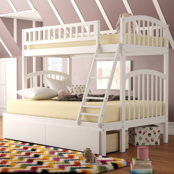 Jackie Twin over Full Bunk Bed with Drawers by Viv + Rae