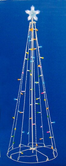 LED Multi-Function Outdoor Christmas Tree Decoration Lighted Display by Sienna Lighting