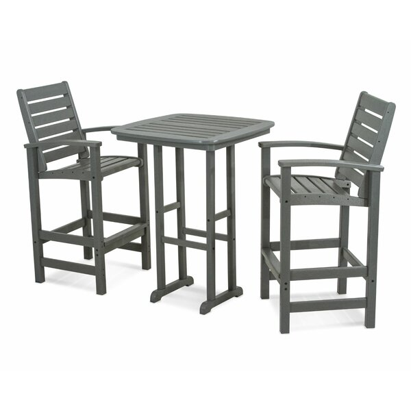 Signature 3-Piece Bar Set by POLYWOOD®