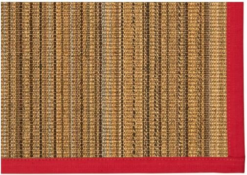 Dover Hand Woven Brown Area Rug by Bay Isle Home