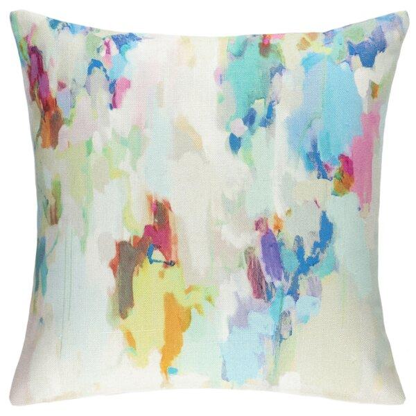 Indoor / Outdoor Abstract Throw Pillow