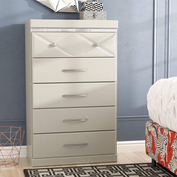 Wylie 5 Drawer Chest by Willa Arlo Interiors