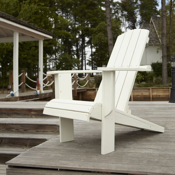 Malibu Plastic Adirondack Chair by Uwharrie Chair