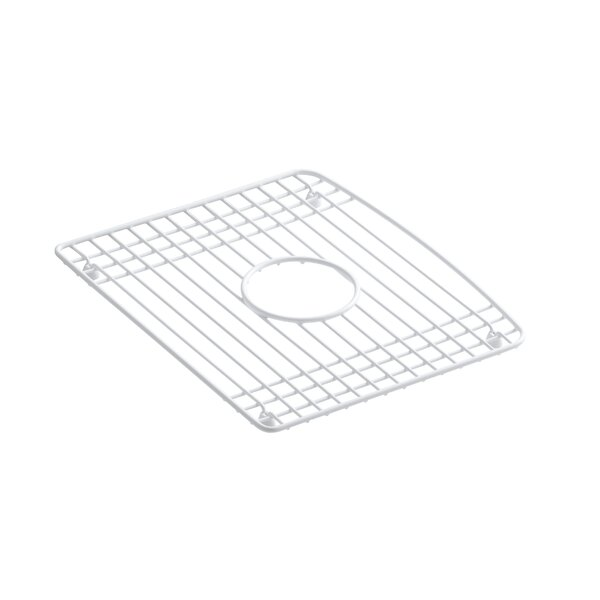 Deerfield 14-15/16 x 12-1/8 Stainless Steel Bottom Bowl Rack by Kohler