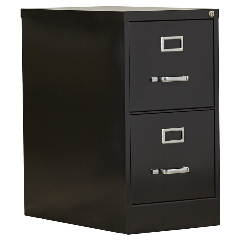 Attirant 2 Drawer Commercial Letter Size File Cabinet