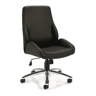 Comparison High-Back Leather Desk Chair ByOffices To Go