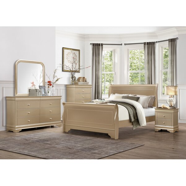 Marionville Sleigh Configurable Bedroom Set by Rosdorf Park
