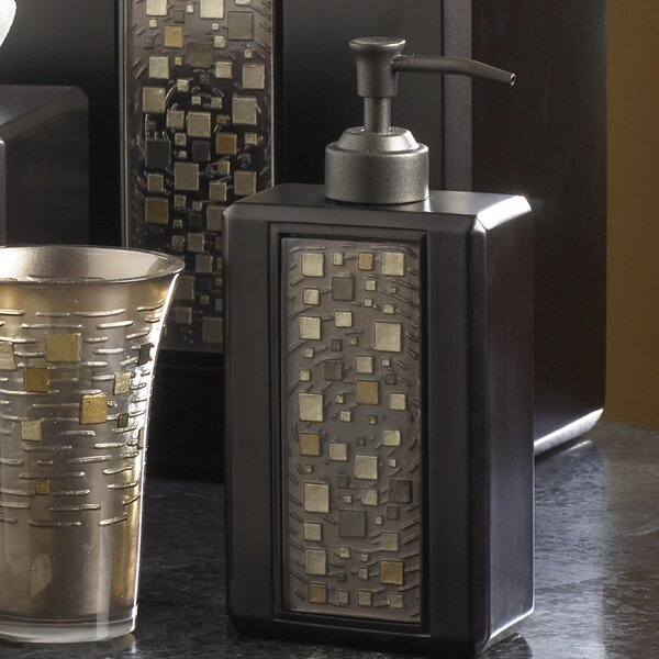 Mosaic Soap Dispenser by Croscill Home Fashions