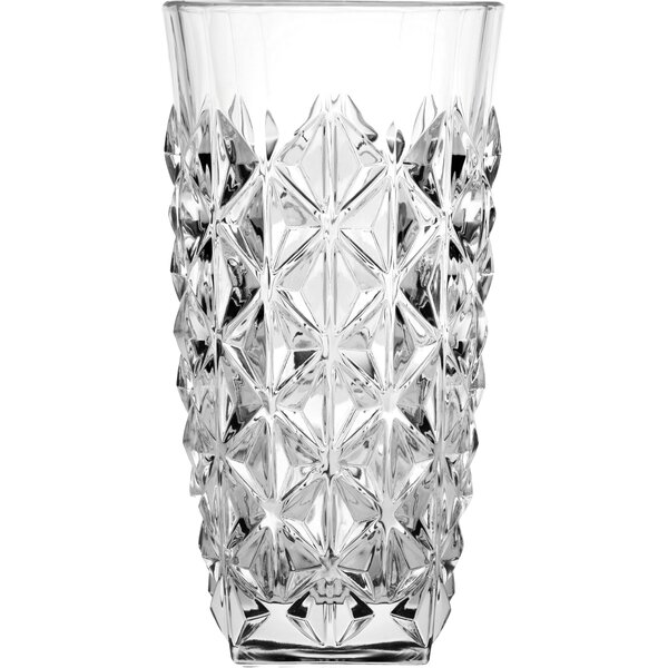 Enigma 12 oz. Crystal Highball Glass (Set of 6) by Lorren Home Trends