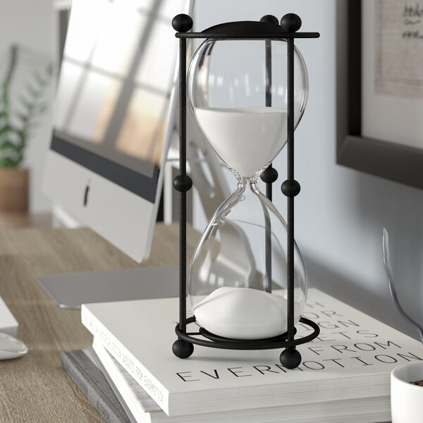 Ailis 30 Minute Timer Hour Glass by Trent Austin Design