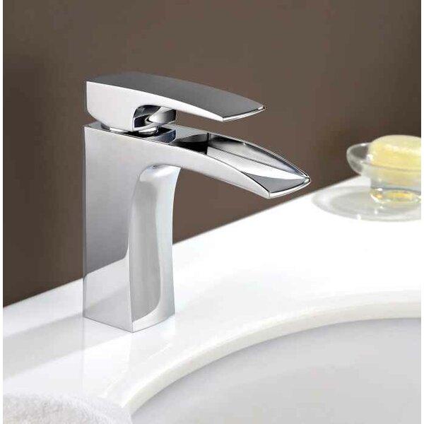 Ceramic Circular Drop-In Bathroom Sink with Faucet