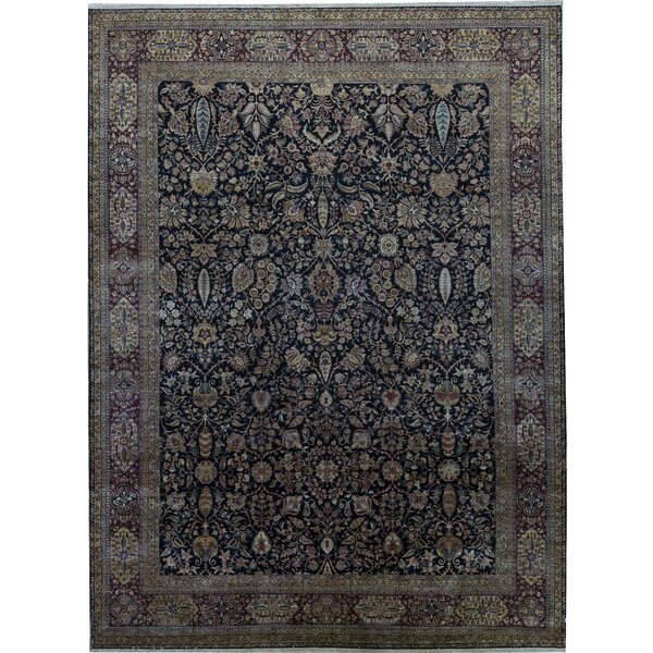 One-of-a-Kind Sona Hand-Knotted Brown 12'1 x 16'2 Area Rug